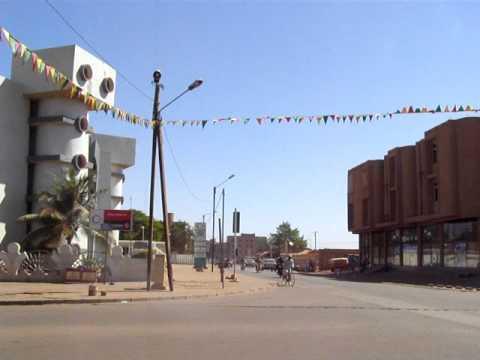 BURKINA FASO - Ouagadougou downtown