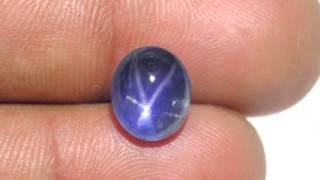 4.99-Carat Eye-Clean Cornflower Blue Star Sapphire from Ceylon