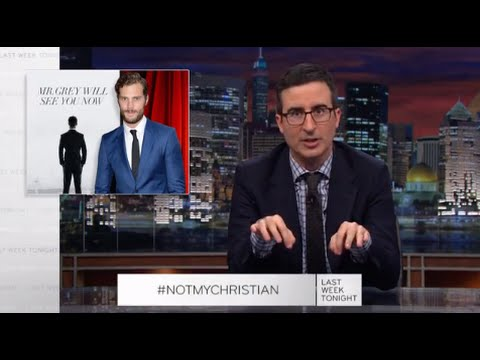 Last Week Tonight with John Oliver: Fifty Shades #NotMyChristian Apology (Web Exclusive) video