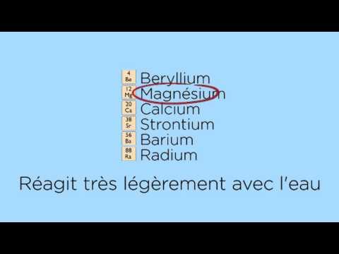 Réactions Entre Les Métaux Et L'eau  | FuseSchool + Unisciel