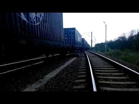 HD Freight Train Movie