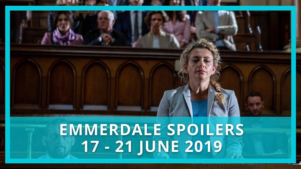Emmerdale spoilers: 17 - 21 June 2019