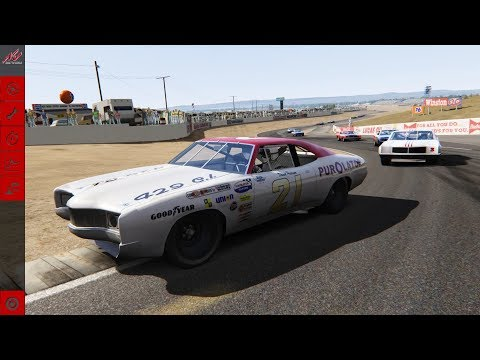 Assetto Corsa Riverside Raceway 71-72 NASCAR Mod
