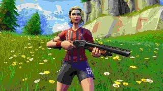 13 Kill Solo Win - Football Skin Tryhard Gameplay!