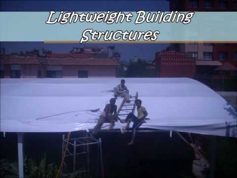Manufacturers Temporary Warehouse Structures, Fabric Buildings, Clear Span Structures Lightweight
