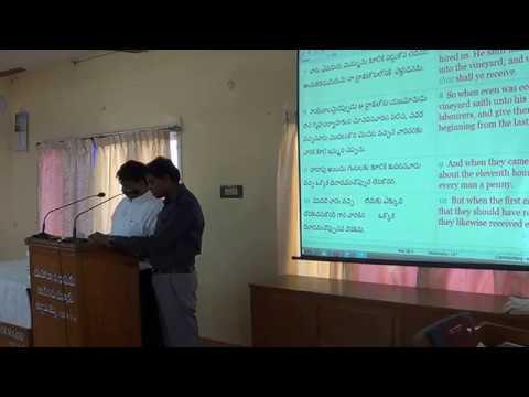 Youth Meeting - Bro Binod Mathai