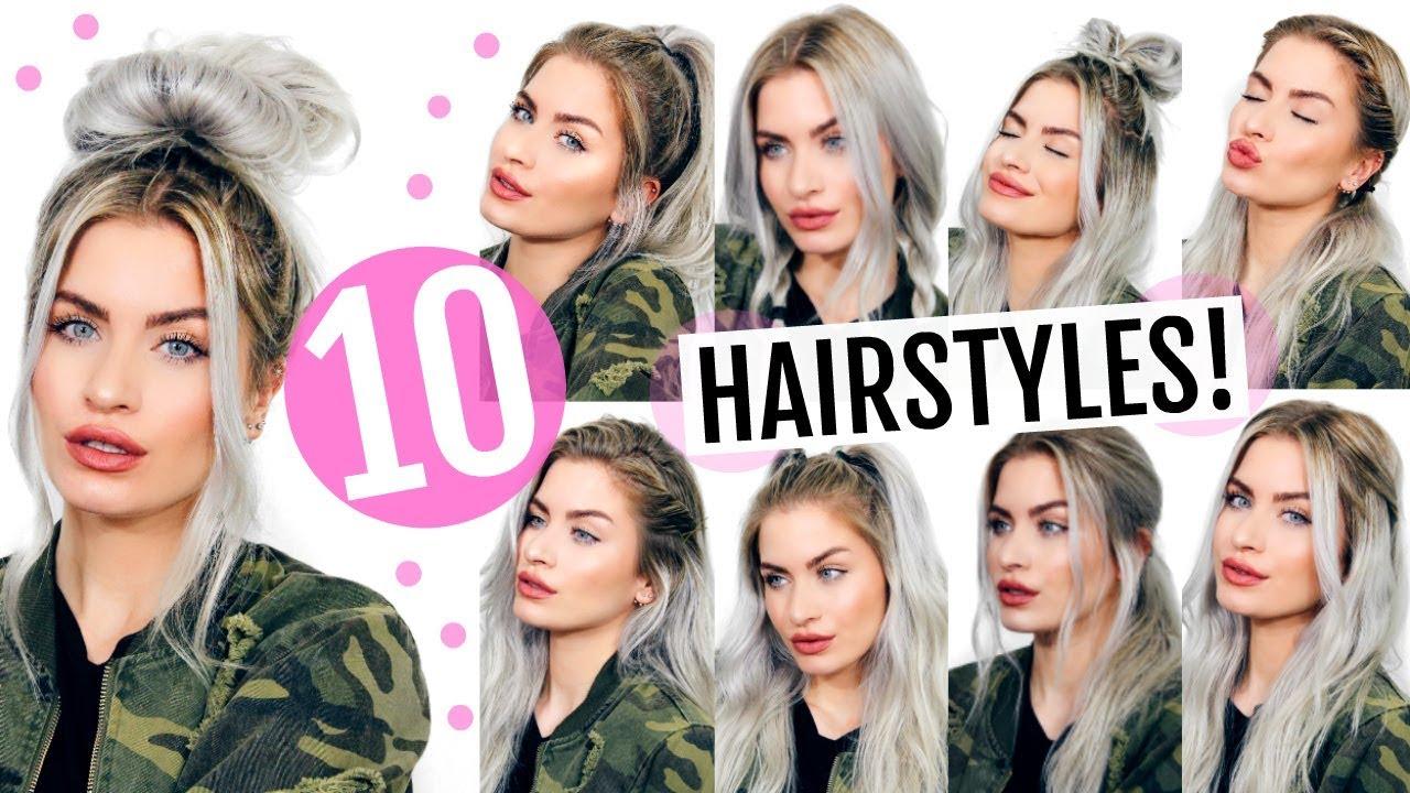 Heatless Hair Styles: 10 HEATLESS BACK TO SCHOOL HAIRSTYLES!
