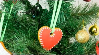 Рождественские пряники на Елку / Christmas gingerbread on a Christmas Tree - Я - ТОРТодел!