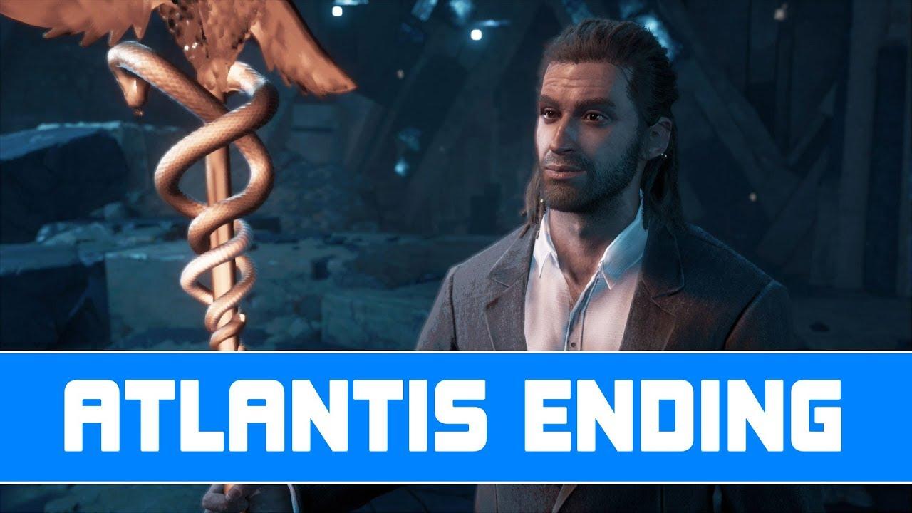Assassin S Creed Odyssey Atlantis Ending True Ending Secret Ending First Civilization Youtube
