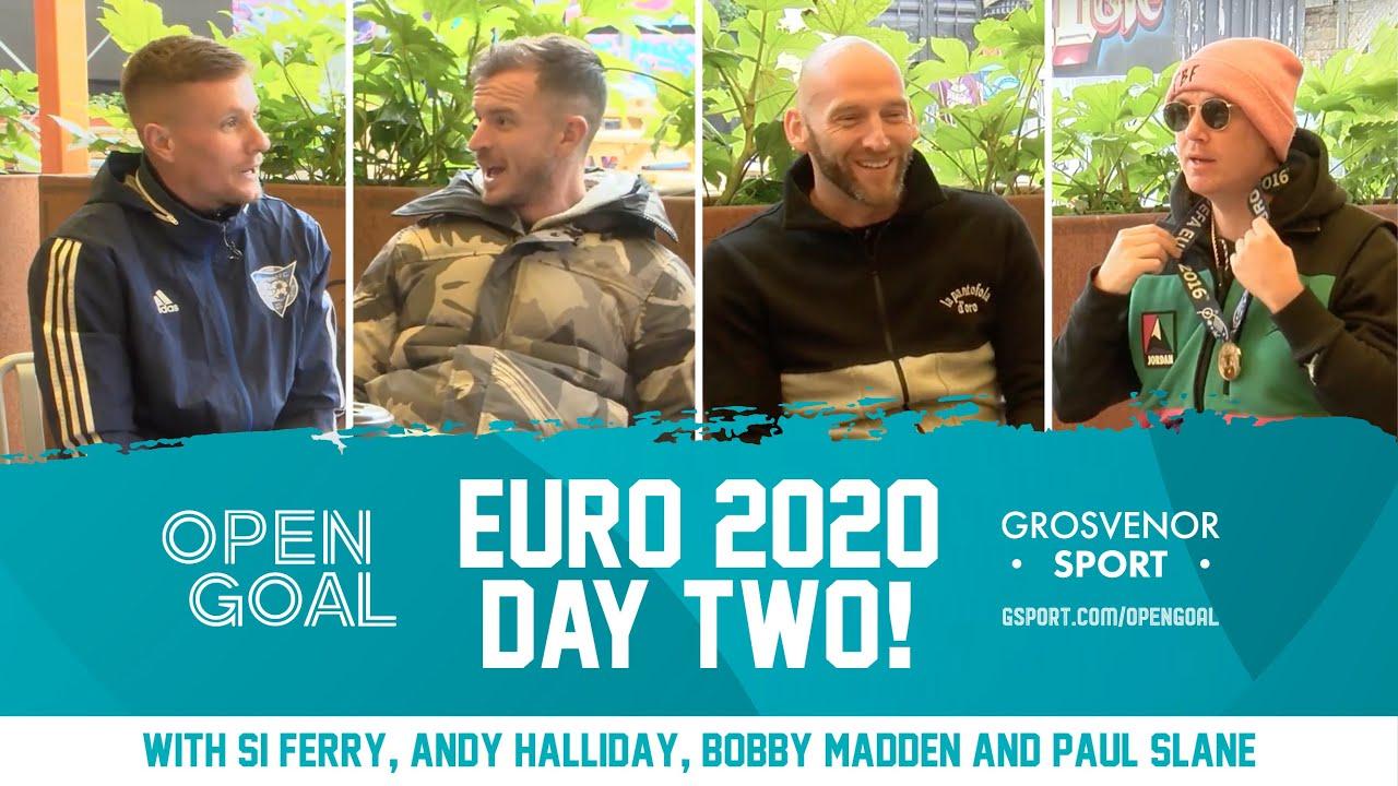 EUROS DAY 2 w/ REFEREE BOBBY MADDEN | Open Goal Daily Euros Podcast