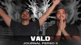 PREMIÈRE ÉCOUTE - VALD - JOURNAL PERSO II