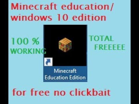 How to download minecraft education/windows 10 Edition for free [easy][100%  working]by FANTOOS
