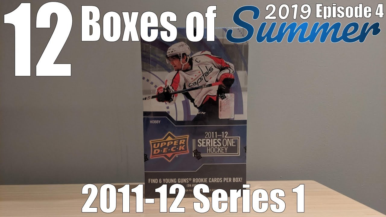12 Boxes Of Summer Day #4 | 2011-12 UD Series 1 Hockey Hobby Box Break!