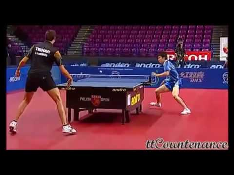 Ryu Seung Min : the best poits of table tennis
