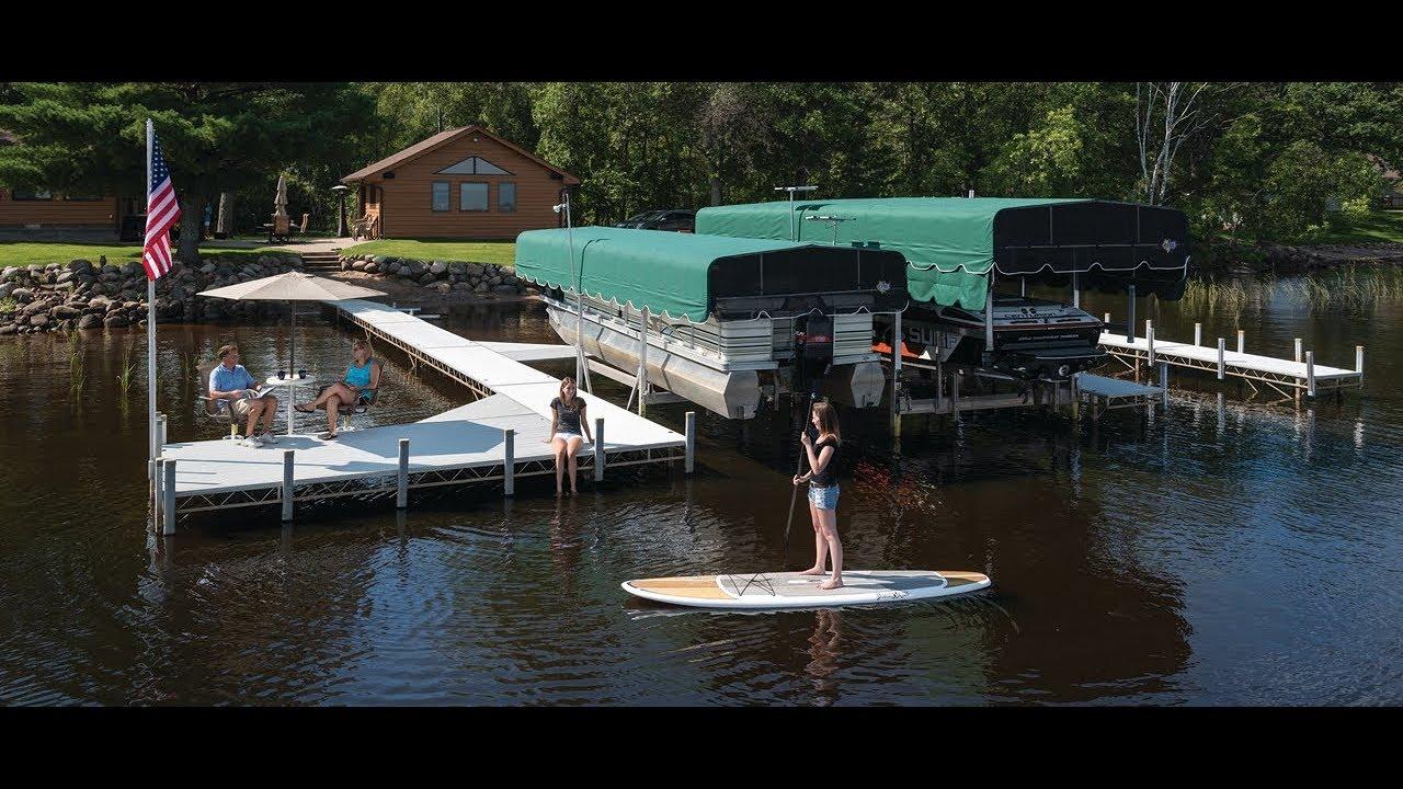 Floe Vsd Boat Lift Youtube