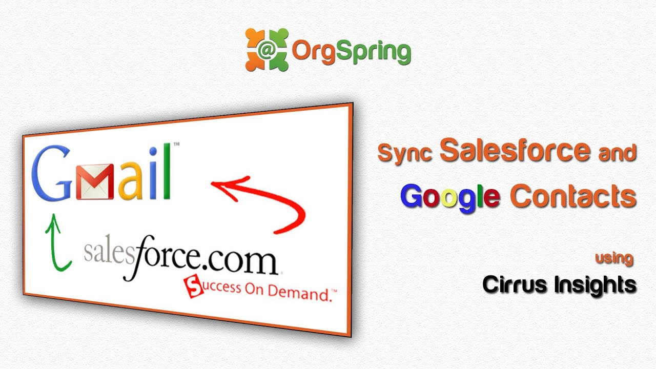 Salesforce and Google Contact Sync