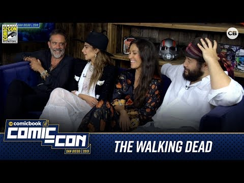 The Walking Dead Cast - San Diego Comic-Con 2019 Interview