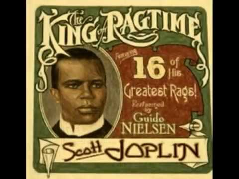 "Ragtime Piano : SCOTT JOPLIN . "" The Entertainer "" (1902)"