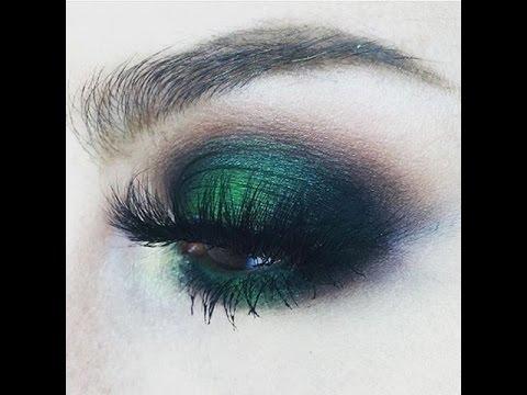Maquillaje Ahumado en Verde *Green Metalic Smokey eye*