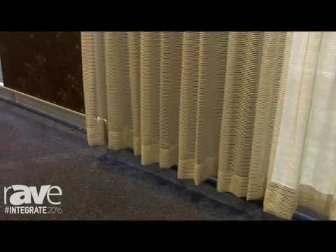 Integrate 2016: Lutron Demos Line of Automated Shades and Blinds
