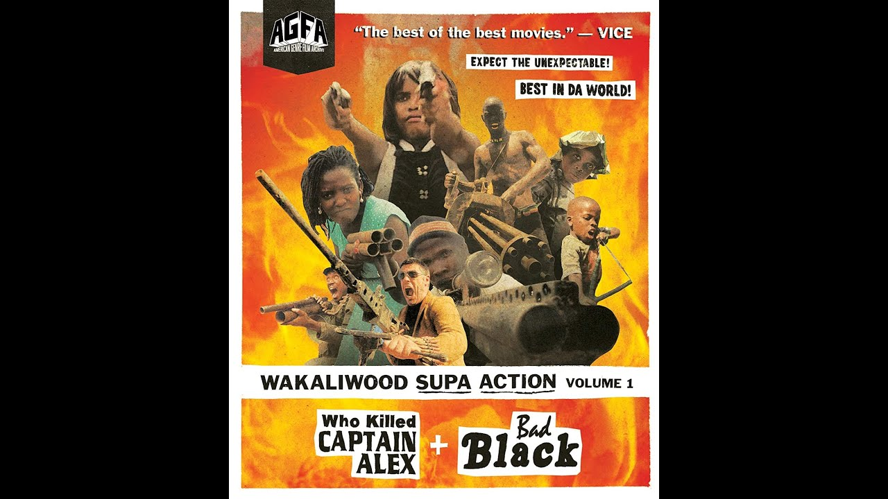 WAKALIWOOD SUPA ACTION VOLUME 1 (Who Killed Captain Alex/Bad Black) (AGFA Blu-Ray Review)