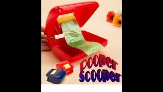 Pooper Scooper! или портативный совок для лёгкой уборки собачьих экскрементов