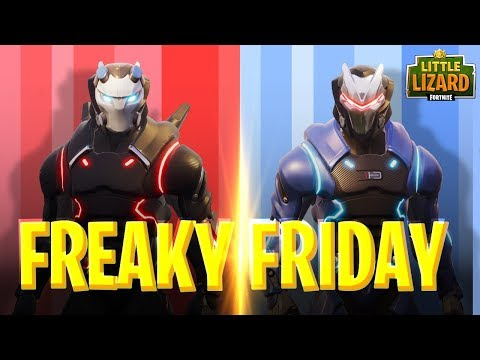 FREAKY FRIDAY - CARBIDE AND OMEGA SWAP BODIES- FORTNITE SHORT FILMS