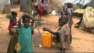 Waterborne diseases grip Somali refugee camps