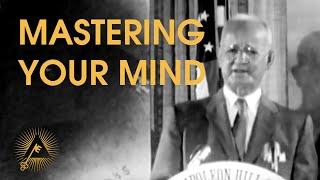 Napoleon Hill  Mastering Your Mind (SelfDiscipline)  RARE LIVE LECTURE