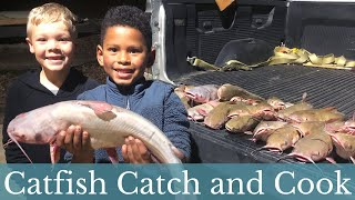 The WORLD'S BEST Catfish! {Catch, Clean, and Cook}