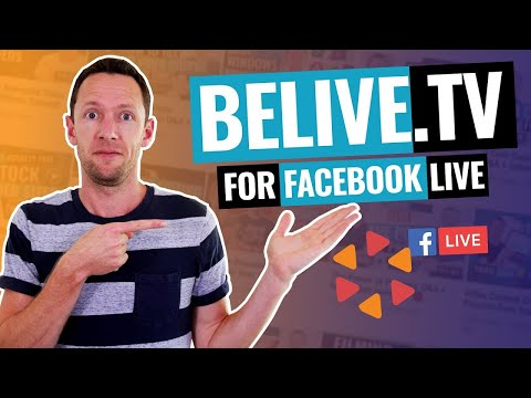 BeLive.TV Review: Best Facebook Live Streaming Software?