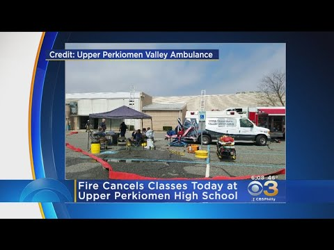 Damage From Fire Causes Classes To Be Cancelled At Upper Perkiomen High School