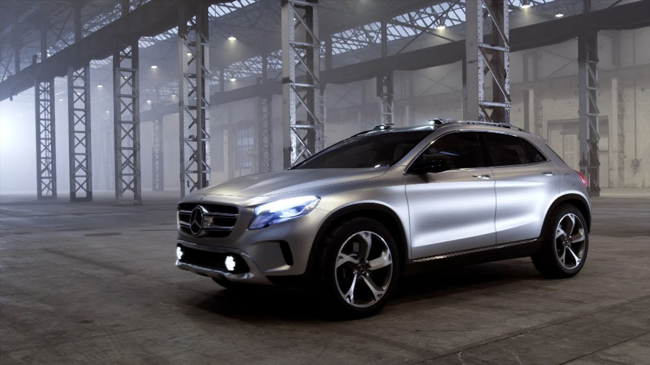 Mercedes Benz Gla >> All-New Mercedes GLA-Class concept - DRIVING - YouTube
