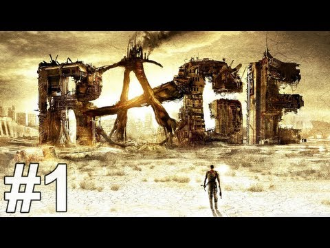 Rage Gameplay Gameplay Walkthrough Part 1 No Commentary
