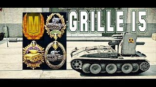 Grille 15 World of tank blitz 7Kills Mastery