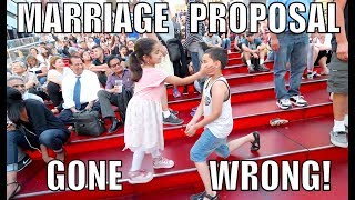 BABY MARRIAGE PROPOSAL GONE WRONG!!! *she slapped him*