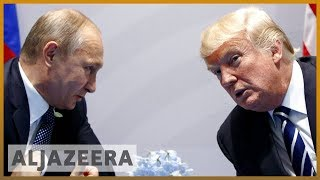 🇺🇸 US sanctions Russians over alleged vote meddling | Al Jazeera English