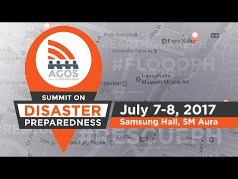 LIVE: Agos Summit on Disaster Preparedness, Day 1