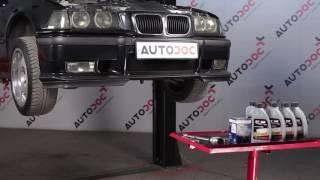 Vakaajan hela asennus BMW 3 Compact (E36): ilmainen video
