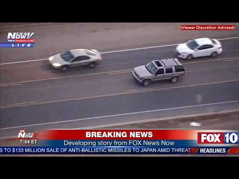 FULL: Suspects embrace before police chase in Southeast Valley ends with their arrest (FNN)