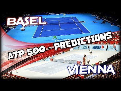 ATP 500 - Vienna, Basel 2018 - Predictions | Tennis Warden