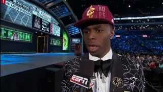 The Cavaliers Select Andrew Wiggins with the Number 1 Pick!