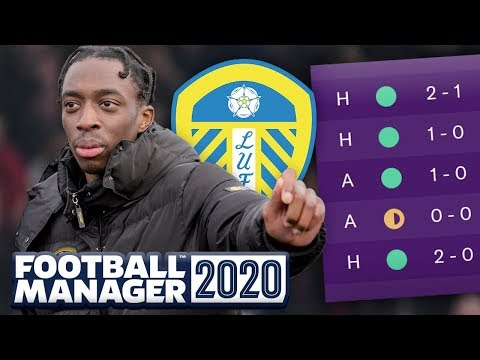 LEEDS UNBEATEN STREAK TO CONTINUE?! EP #3 - FOOTBALL MANAGER 2020