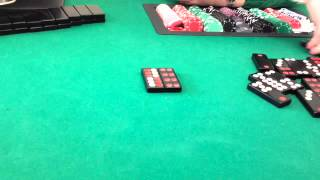 Casino Pai Gow Tiles Two Tiles Name Calling and Dots Counting