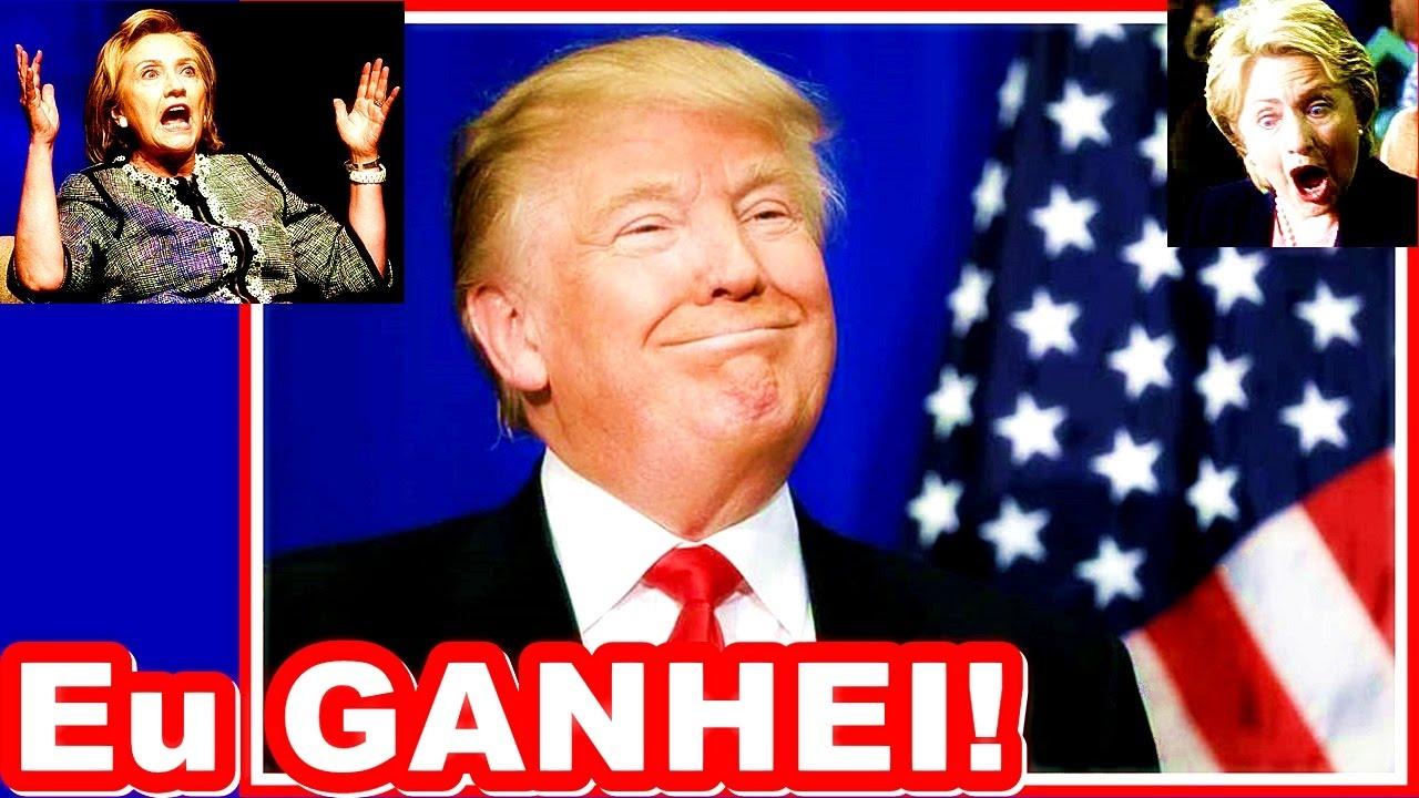 💣🔴❱❱ Trump Venceu - Bom Dia Brasil Especial: 09/11/2016 - TUDO Sobre A Vitória de Donald Trump - YouTube
