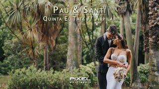 Download Lagu Video de Casamiento de Pau & Santi // Boda en Quinta el Tata ARPILAR // Pixel Produxiones mp3