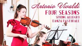 Antonio Vivaldi - Four Seasons- Spring - Allegro danza pastorale