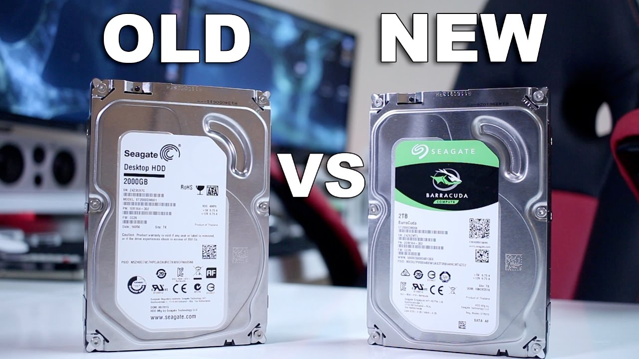 Seagate Barracuda Vs New Old Youtube Hdd 320 Gb Wd Blue 35
