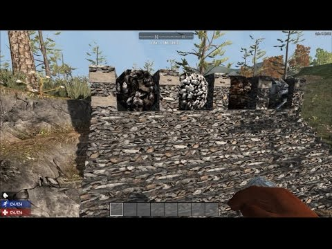Mining Test 2.0 Iron vs Steel | 7D2D Alpha | 15