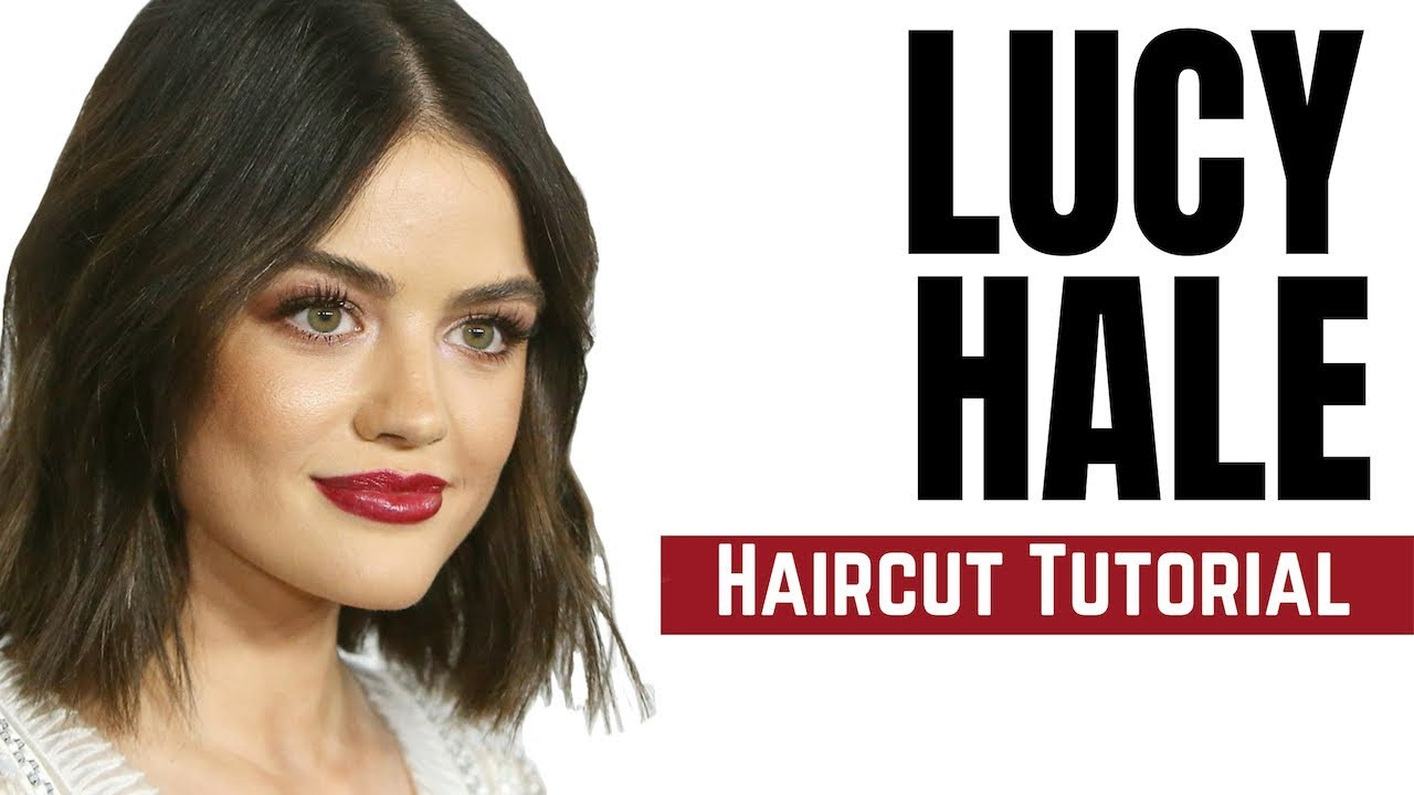 Lucy Hale Haircut Tutorial Bob Haircut 2018 Thesalonguy Youtube